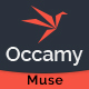 Occamy - Corporate Multipurpose Muse Template - ThemeForest Item for Sale