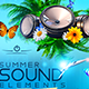 Summer Sound Elements - GraphicRiver Item for Sale
