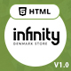 Infinity | Responsive Multipurpose Ecommerce HTML5 Template - ThemeForest Item for Sale