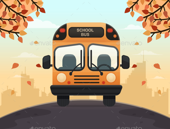 School Bus - Miscellaneous Vectors