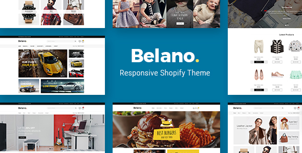 Belano - Sectioned Drag & Drop Fashion Shopify Theme