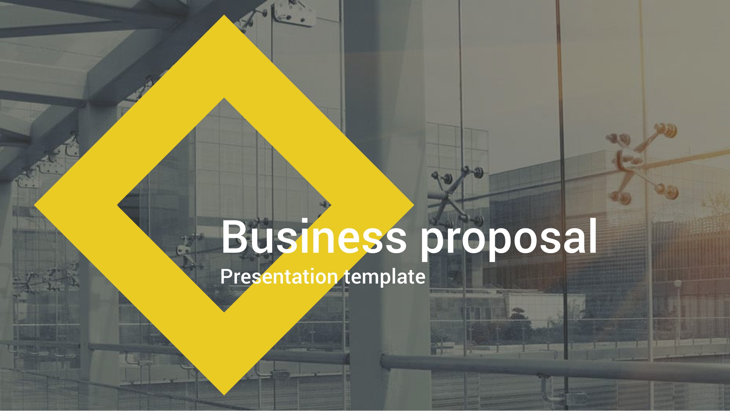 business proposal powerpoint templatemalis | graphicriver, Powerpoint templates