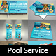 Swimming Pool Cleaning Service Advertising Bundle - GraphicRiver Item for Sale