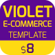Violet | E-Commerce PSD Template