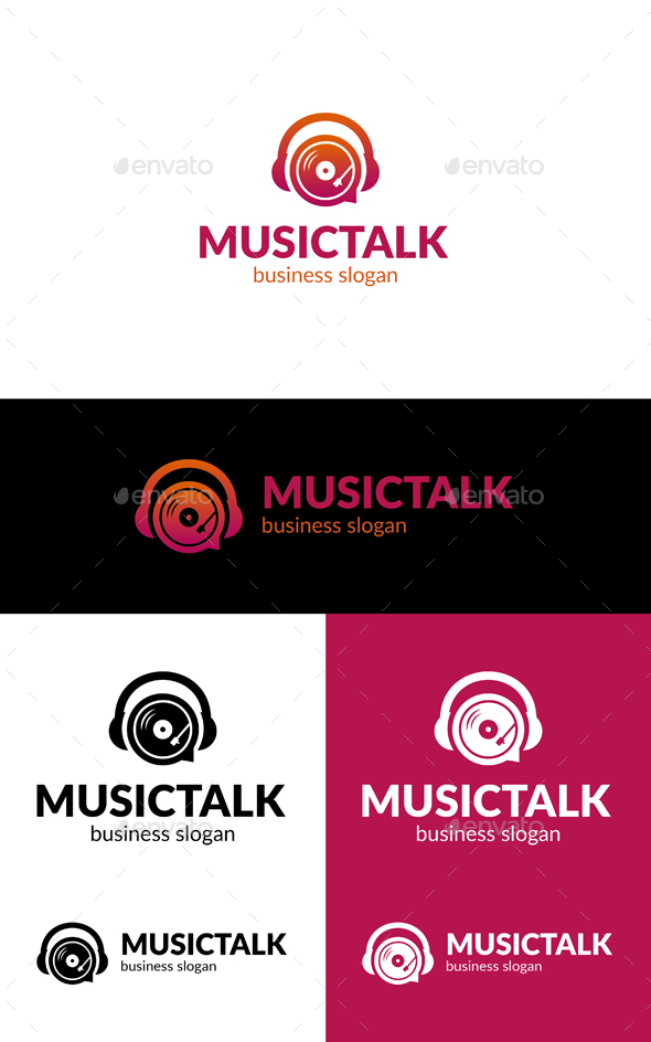 GraphicRiver Music Talk 20240055