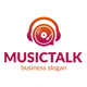 Music Talk Logo Template