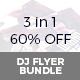 DJ Flyer Bundle set 01