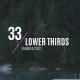 33 Minimal Lower Thirds - VideoHive Item for Sale