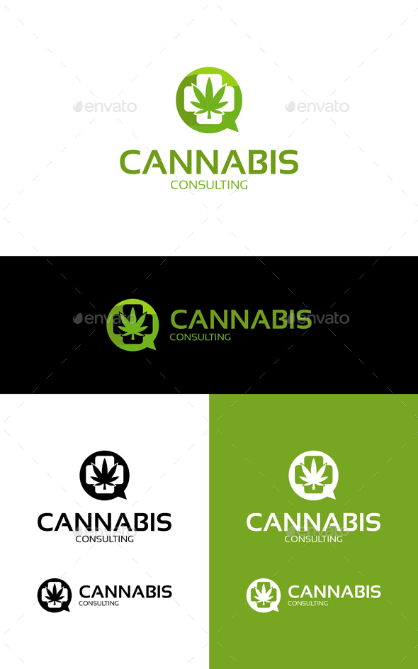 GraphicRiver Cannabis Consulting 20240542