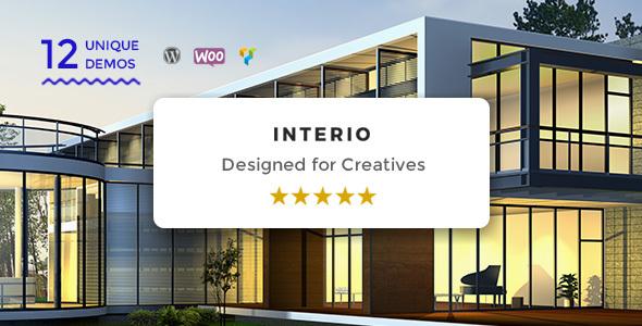 Interio Portfolio - Creative Portfolio