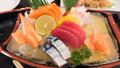 japanese sashimi set on boat plate - PhotoDune Item for Sale