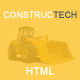Constructech - Responsive Construction HTML Template Nulled
