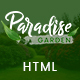 Paradise Garden - Gardening and Landscaping HTML Template - ThemeForest Item for Sale