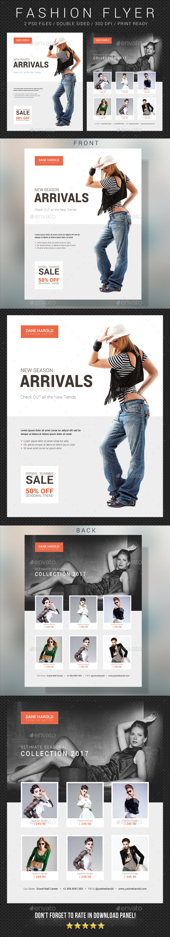 Fashion Flyer 09 - Commerce Flyers