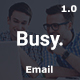 Busy Multipurpose Email Template Nulled