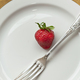 Strawberry on a plate - PhotoDune Item for Sale