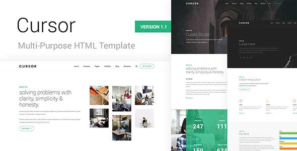 Cursor - Multi-Purpose HTML Template - Business Corporate