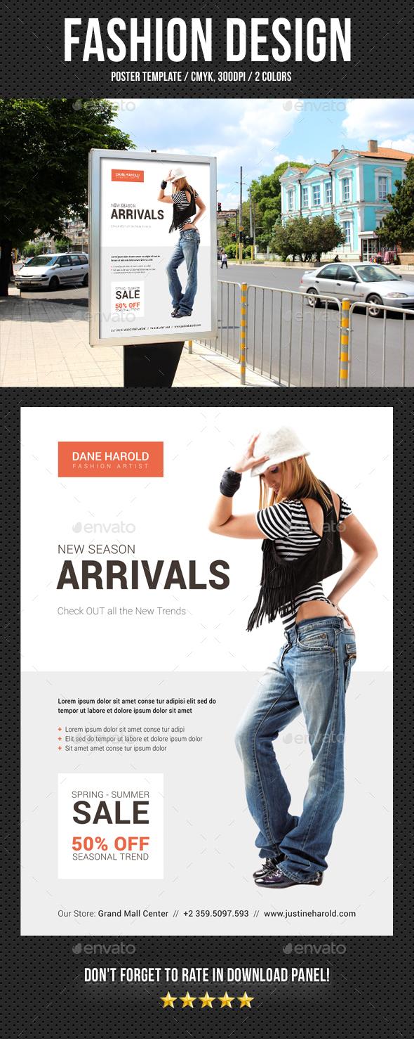 Fashion Poster 08 - Signage Print Templates