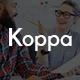 Koppa - One Page Parallax Template Nulled