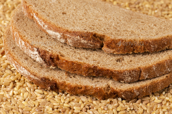 Slices of bread - Stock Photo - Images