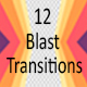 12 Blast Transitions - VideoHive Item for Sale