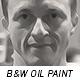 Black & White Oil Paint