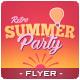 Summer Sunset Flyer - GraphicRiver Item for Sale
