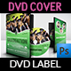 Graduation Ceremony DVD Cover and Label Template Vol.3