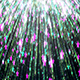The Background of the Falling Starry Rain - VideoHive Item for Sale