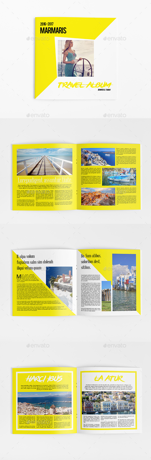 Travel Altum 8 Pages - Catalogs Brochures