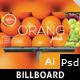 Juice Shop Billboard - GraphicRiver Item for Sale