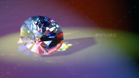 Classic Diamond 3D Render - Miscellaneous 3D Renders