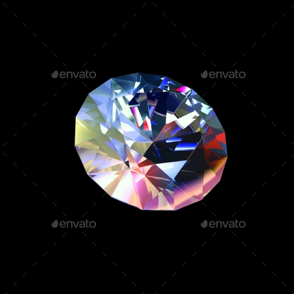 GraphicRiver Classic Diamond 3D Render 20242733