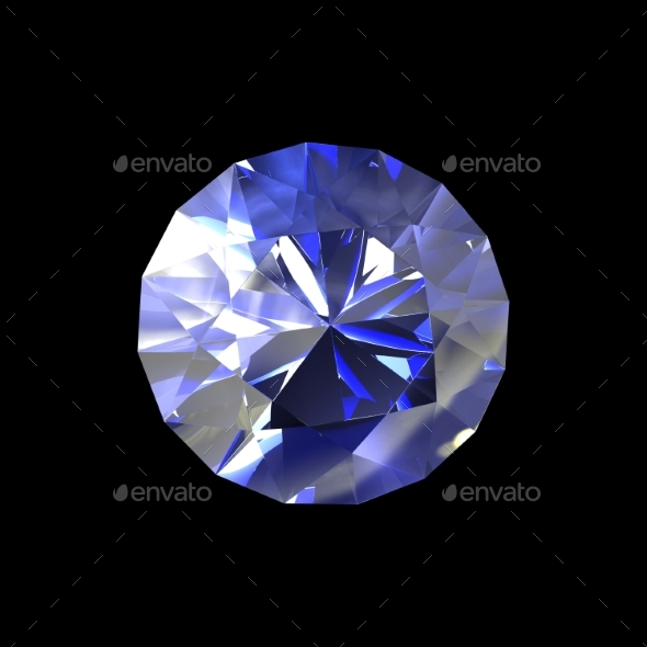 GraphicRiver Classic Diamond 3D Render 20242736
