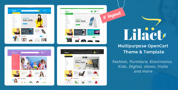 Lilac - Fashion Responsive OpenCart Theme - Shopping OpenCart