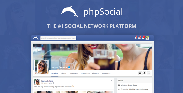 phpSocial - Social Network Platform - CodeCanyon Item for Sale
