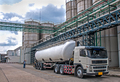 Truck Delivery Danger Chemical in Petrochemical Plant  - PhotoDune Item for Sale