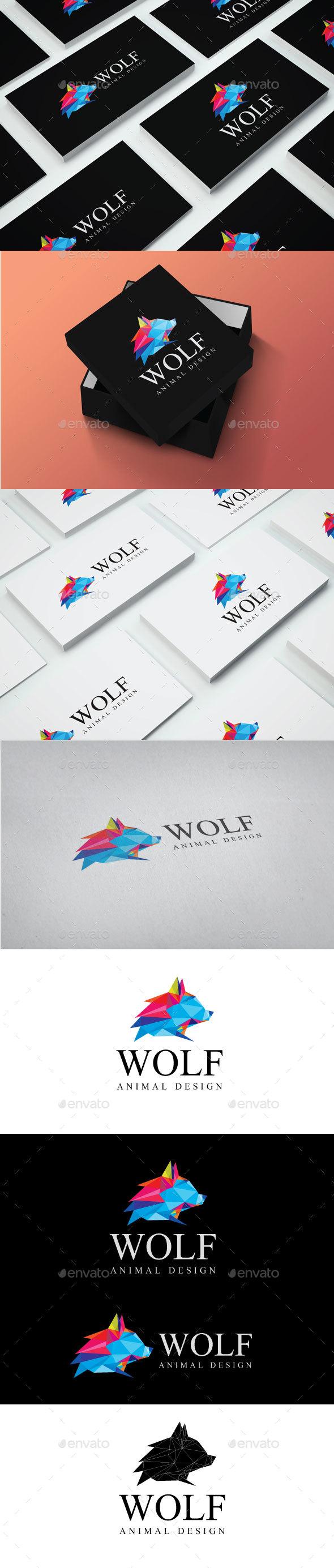 GraphicRiver Wolf Logo 20238198