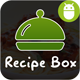 Recipe Box With Material Design