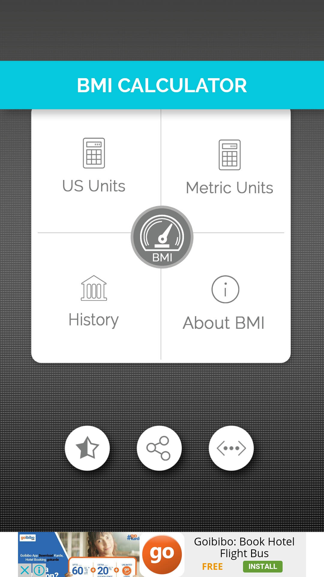 BMI Calculator for Android - Full Application with PSD by ...