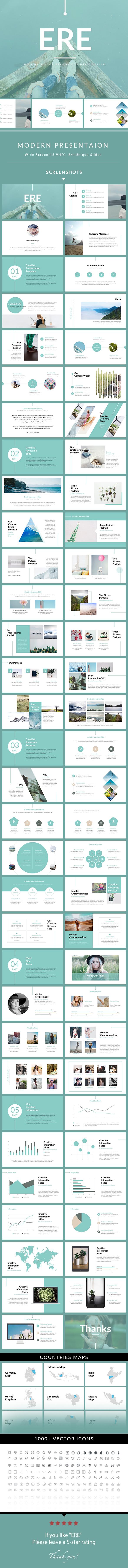 ERE - Modern PowerPoint Template - Creative PowerPoint Templates