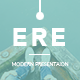 ERE - Modern PowerPoint Template - GraphicRiver Item for Sale