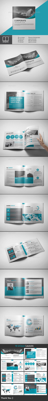 GraphicRiver Corporate Brochure 20243554