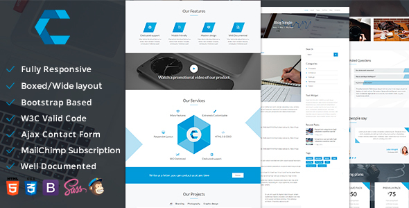 Create — Multipurpose Responsive Template
