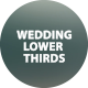 Wedding Titles Lower Third - VideoHive Item for Sale