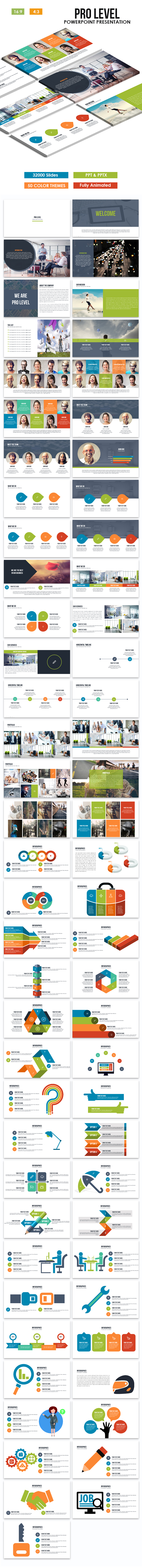 Pro Level Powerpoint Template - Business PowerPoint Templates