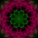 Pink Flower Kaleidoscope Loop V7