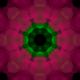 Pink Flower Kaleidoscope Loop V8