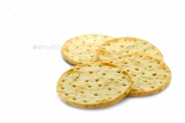 herb crackers - Stock Photo - Images