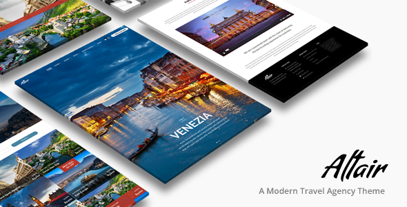 Tour Travel Agency | Altair Theme - Travel Retail